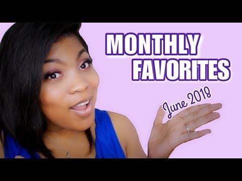 Monthly Perfume & Beauty Favorites! June 2018