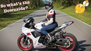 Biker Catie chick minx