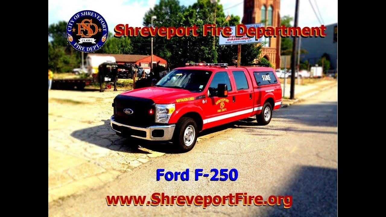 Shreveport Fire Department's New Battalion Chief Trucks ...