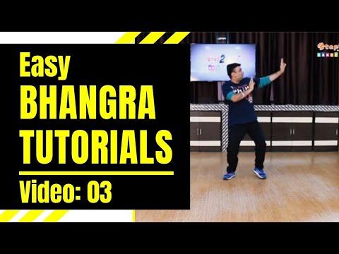 Bhangra Tutorials (Video 03) | Learn 3 Easy Bhangra Steps for Beginners |  Step2Step Dance Studio
