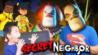 GİZLİ HELLO NEIGHBOR ACABA KİM? | SECRET NEIGHBOR
