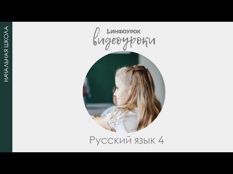 Части речи | Русский язык 4 класс #22 | Инфоурок