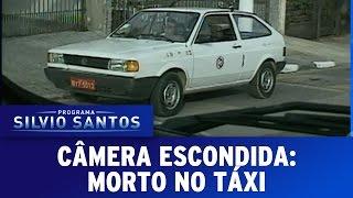 Repeat youtube video Programa Silvio Santos (04/09/16) - Morto no Táxi