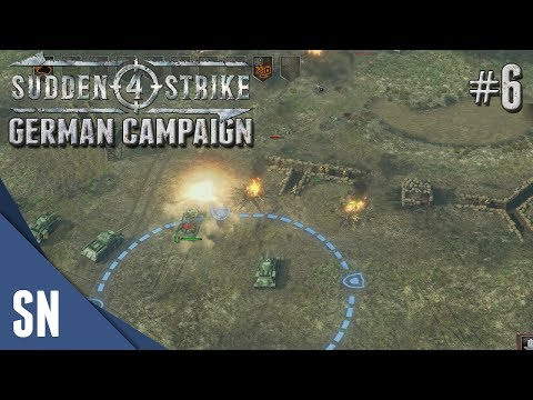 Battle #6: Balaton Defensive Operation! - Sudden Strike 4 - Soviet Campaign Gameplay