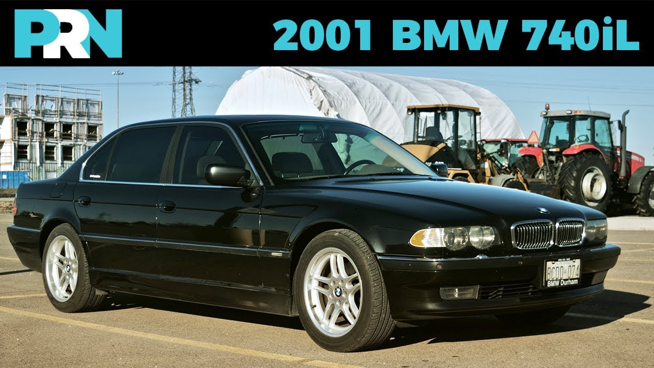 2001 bmw 740il review