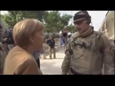 German Chancellor Afghanistan Visit