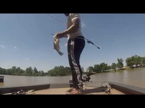 A Day Bass Fishing On Wolf Lake