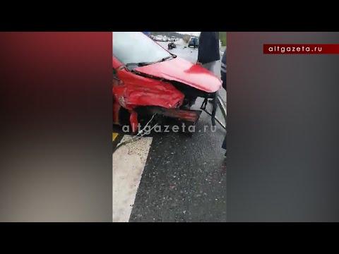 Сейчас жёсткое ДТП с потерей двигателя устроил пьяный водитель