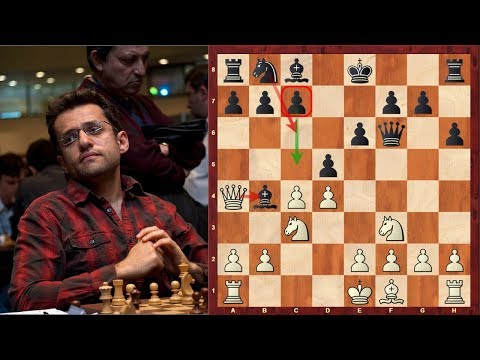 Attacking Chess with a semi-open f-file : Levon Aronian vs Wesley So - : Sinquefield Cup (2017)