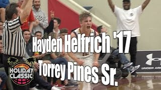Hayden Helfrich '17, Torrey Pines Senior Year, 2016 UA Holiday Classic