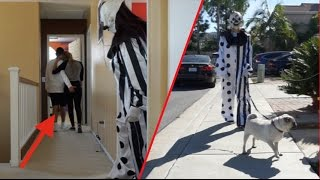 Repeat youtube video SCARIEST/WEIRDEST KILLER CLOWN SIGHTINGS CAUGHT ON CAMERA