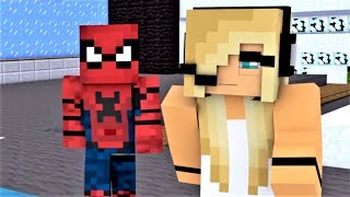 "MINECRAFT SONG SERIES! ""Nemesis Part 1-3"" Spiderman, Psycho Girl, Iron Man and Batman!"