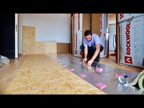 RECORDING STUDIO FLOATING FLOOR CONSTRUCTION