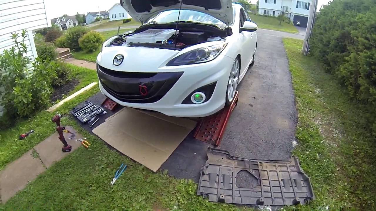 Mazdaspeed 3 PCV Removal! (without removing intake manifold)