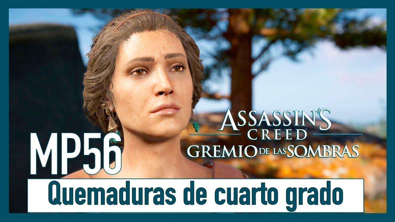 Assassin\'s Creed Odyssey - MP56 - Quemaduras de cuarto grado - YouTube
