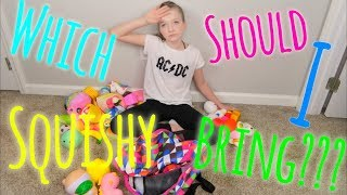 WHICH SQUISHY SHOULD I BRING??? GETTING READY FOR PLAYLIST LIVE   Bryleigh Anne