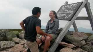 Engagement of Sergio and Angela on the peak of Mount Katahdin Part 1 of 2