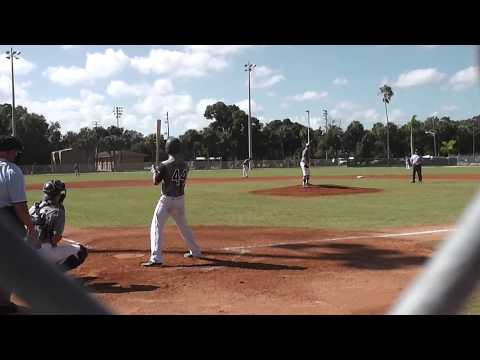 Jake Sadowitz pitching Perfect Game Ft. Myers 10/11/14 LHP class 2016