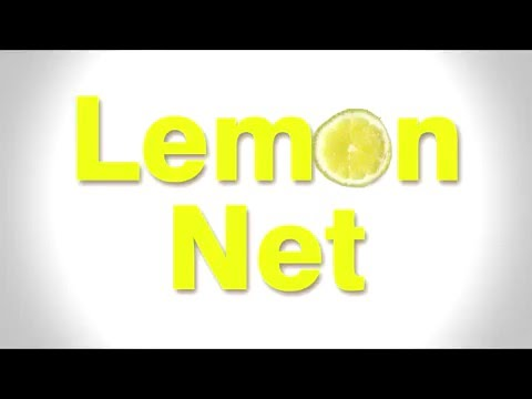 Lemon Net Presentation . How to use Lemon Net