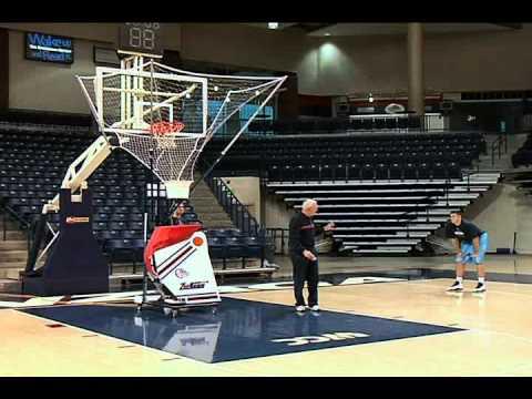 Amazing Basketball Shooting Machine - The Gun - Jerry Krause 250 Shot Program