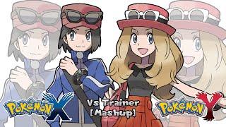 Pokemon X/Y & SSB. for 3DS - Trainer Battle Music [Mashup] (HQ)