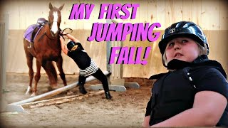 first fall jumping my horse day 143 052318