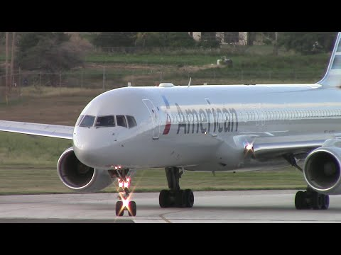 |CLOSEUP| American Airlines 1089 Departure *WITH ATC*