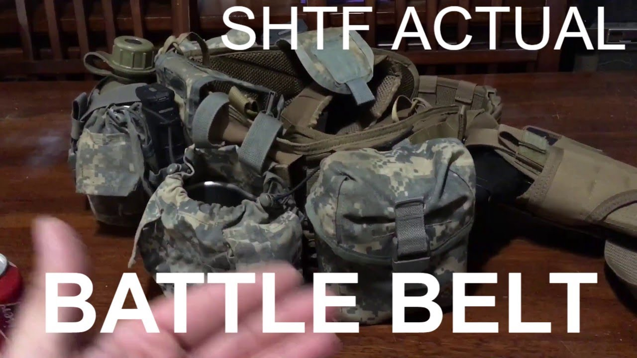 Battle Belt Setup: how to not suck (LEARN FROM THE ENEMY)