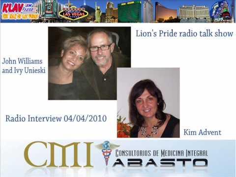 KLAV 1230 AM Radio, Interview to Kim Advent