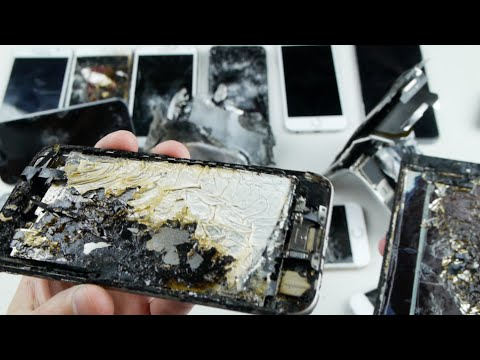 My Broken/Smashed IPhone Collection! (2015)