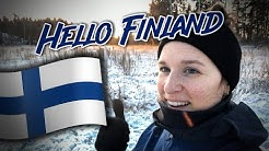 I'm living in Finland now!