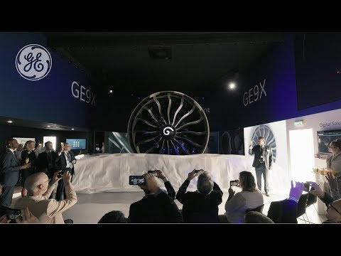 The GE9X Makes its European Debut at the Paris Air Show