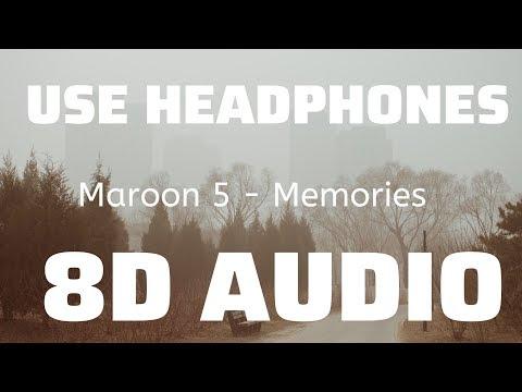Maroon 5 - Memories (8D USE HEADPHONES)🎧
