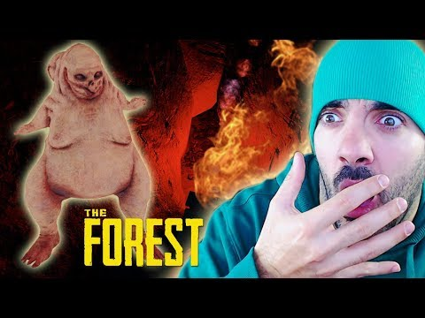 ¡NOS ENFRENTAMOS A UN COWMAN! ⭐️ The Forest #5 | iTownGamePlay