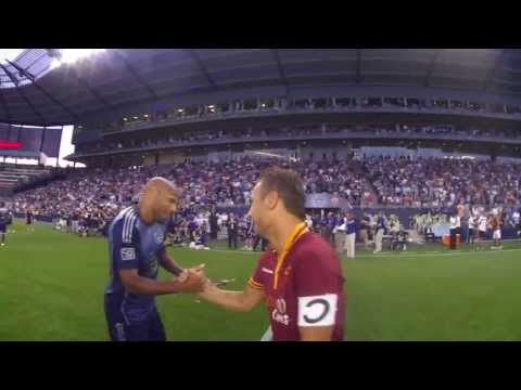 Ref Cam: Sights and Sounds from the 2013 ATT MLS AllStar Game