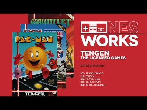 Gauntlet - Pac-Man - R.B.I. Baseball Retrospective: Tengen Trio   NES Works #053