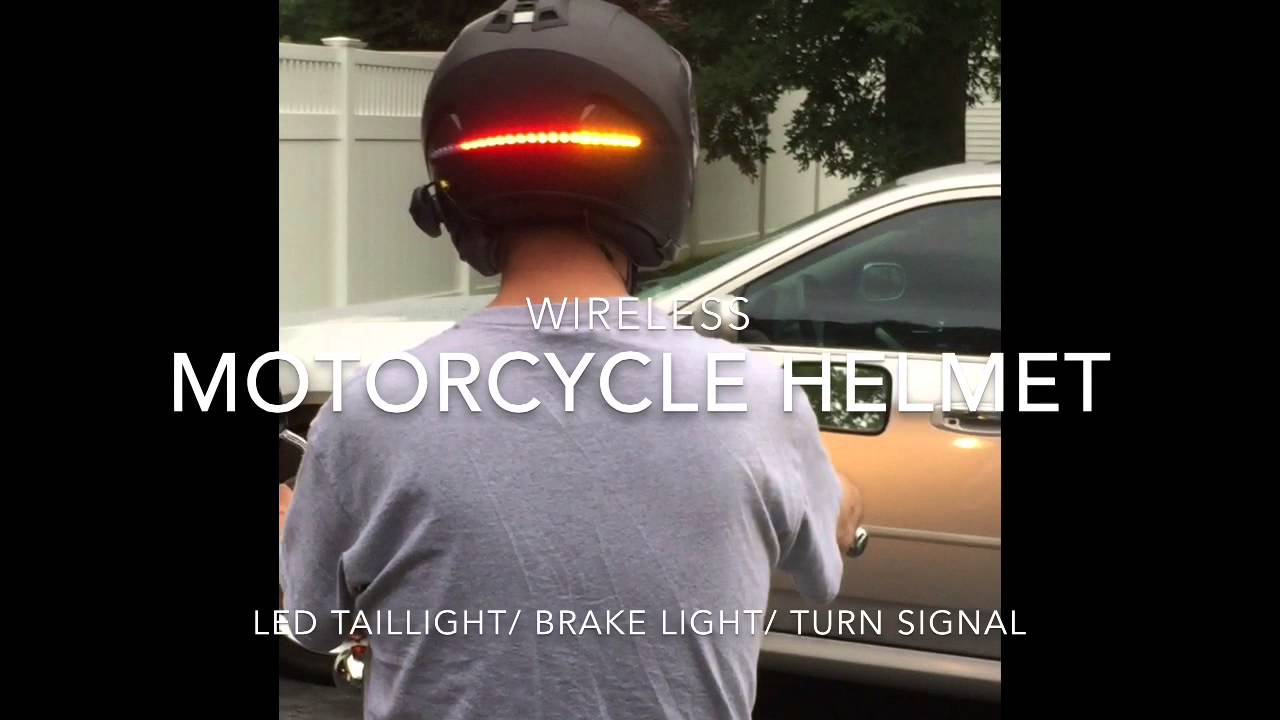 Motorcycle Helmet LED Light  YouTube
