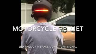 Motorcycle Helmet LED Light