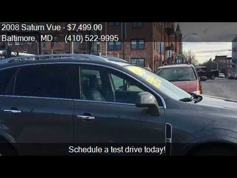 2008 Saturn Vue XR 4dr SUV for sale in Baltimore, MD 21231 a