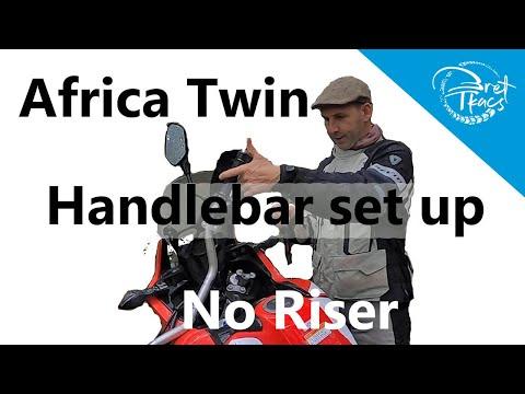 Africa Twin (DCT) handlebar set up