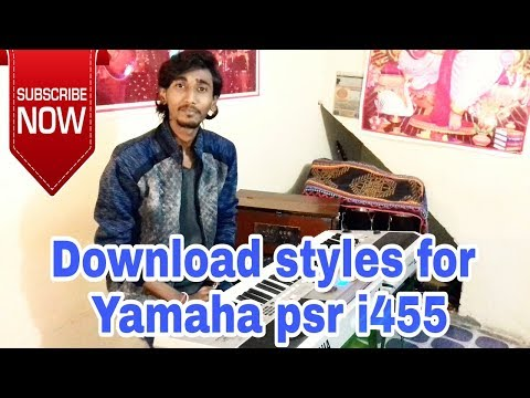 Download Styles For Yamaha Psr I455