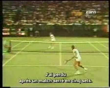 Borg on the US Open