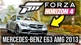 Forza Horizon 4 PC - Mercedes-Benz E63 AMG 2013 | #5 Test Drive - Autumn | 1080p & 60 FPS