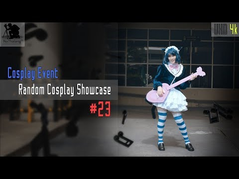 [4k UHD] Random Cosplay Showcase #23 (Yuri, 蛍草, Maka, 9s, Star Trek, Makishima, Cyan, Junko)