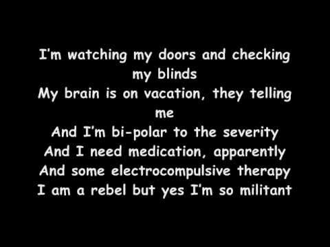 B.o.B - Out Of My Mind feat. Nicki Minaj - LYRICS ON SCREEN