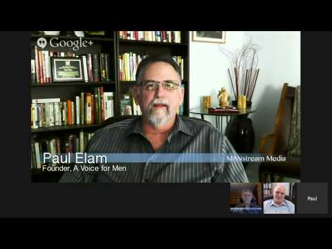 MANstream Media Monthly with Warren Farrell, Tom Golden and Paul Elam: Valentines Day