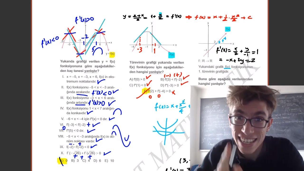 84) İlyas GÜNEŞ - Türevin Geometrik Yorumu - II (YKS-AYT Matematik) 2021