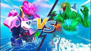 Pelea de robots ya empezo! | Robot Doggus VS Monstruo | Evento Final en vivo Temporada 9 Fortnite