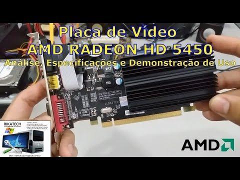 Placa Vídeo Boa E Barata: AMD Radeon HD 5450 (Especifícações + Demonstração)