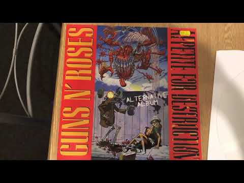Rare Guns N Roses Vinyl – Appetite For Destruction Alternate Album